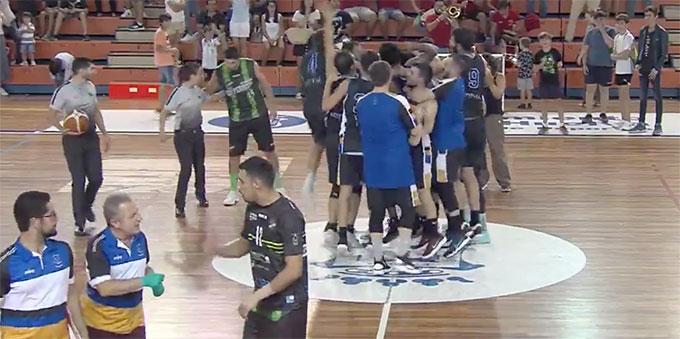 El Krypteia Capital Huelva va de menos a más y suma su cuarta victoria consecutiva tras ganar al CB San Fernando (60-66)