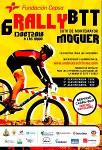 Cartel anunciador de la prueba ciclista que tendrá lugar en Moguer el próximo 13 de octubre.