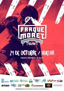 Cartel anunciador de la prueba que tendrá lugar en Huelva el día 21 de octubre.