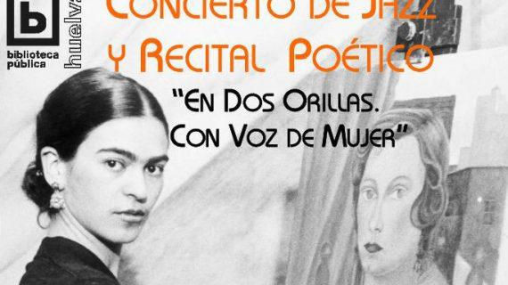 Un concierto de jazz y un recital de poesías de autoras iberoamericanas para celebrar el Día de las Bibliotecas
