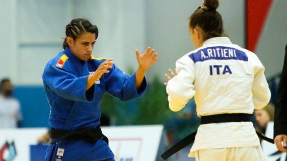 Cinta García progresa y logra la medalla de bronce en la prueba de la Copa de Europa de Judo en Málaga