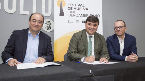 El Festival de Cine y Aguas de Huelva renuevan su colaboración