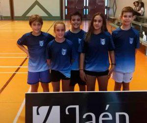 Componentes del CD Bádminton Huelva que han comenzado la temporada con éxito.