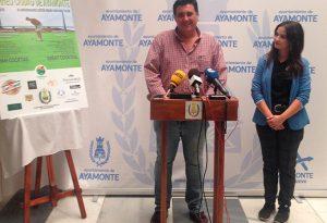 Un momento de la presentación del V Torneo 'Ciudad de Ayamonte'.