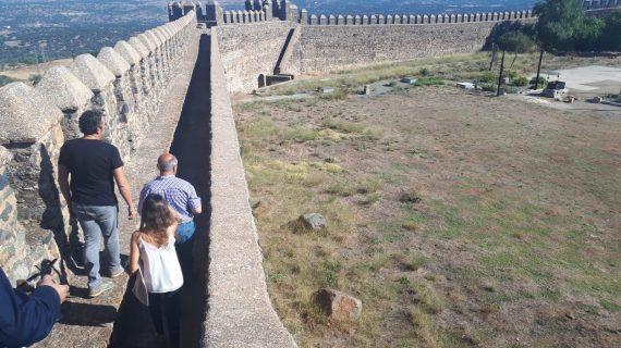 Finalizan las obras de conservación y consolidación del lienzo norte del castillo Sancho IV de Cumbres Mayores