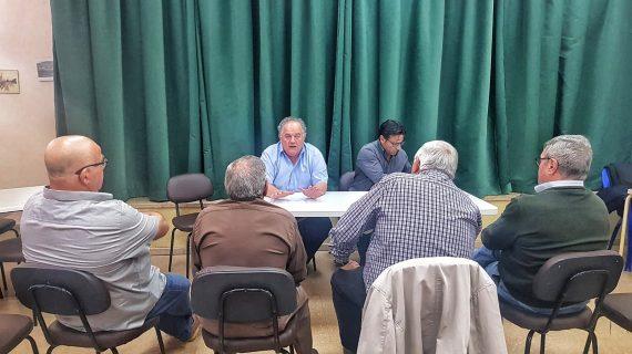 Aguas de Huelva organiza una ronda de visitas a las distintas asociaciones de vecinos de la ciudad