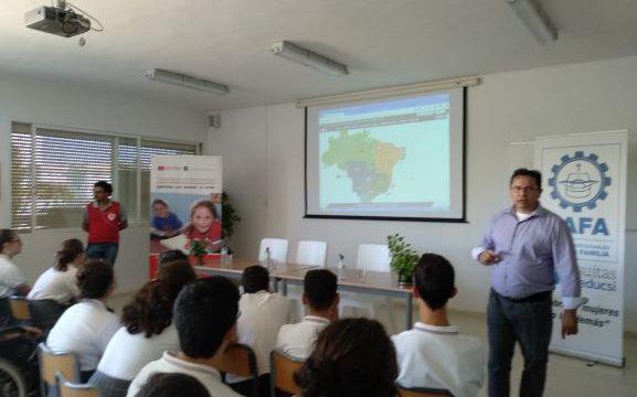 Entreculturas dará a conocer el trabajo realizado en Brasil a través de la Fe y Alegría con charlas en el SAFA Funcadia
