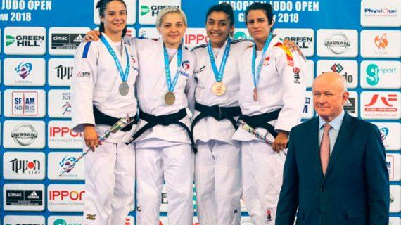 Cinta García logra una meritoria medalla de bronce en el Abierto Internacional de Glasgow de Judo