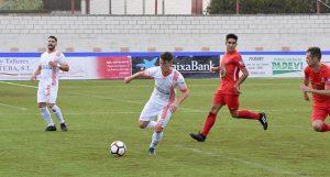 La Palma, con la moral arriba tras haber ganado al San José, juega en el campo del Atlético Antoniano. / Foto: David Limón.