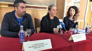 Un momento de la presentación del VI Open Internacional de Petanca de Isla Cristina.