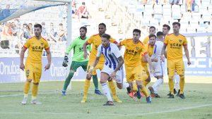 Ganar en casa otra vez, reto del Recre en su partido de este domingo ante el Almería B. / Foto: Pablo Sayago.