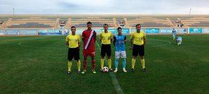 Prolegómenos del partido que se disputó en el estadio de Santo Domingo. / Foto: @CD_EJIDO.