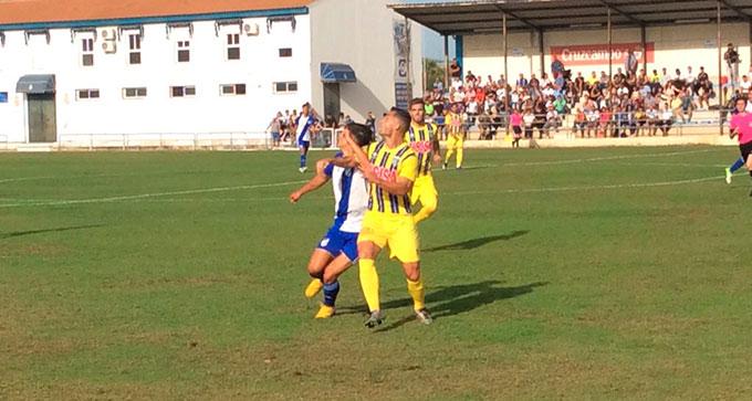 En el partido de la primera vuelta el filial del Recre ganó por 1-0 al Isla.