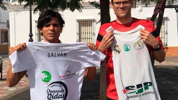 Lisboa espera este domingo a Antonio Bendala y José Carlos Galván en su proyecto solidario 'La Ruta del Rey de Europa'