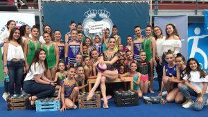 Las gimnastas del Rítmico Colombino afrontan un exigente fin de semana.