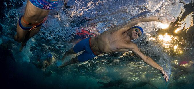 Por décima temporada consecutiva, Rubén superó el millón de metros nadados.