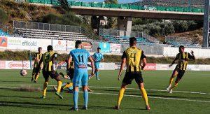 El equipo lepero completó un soberbio partido en Lucena. / Foto: José María García-www.lucenahoy.com.
