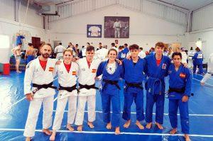 Deportistas del CD Judo Huelva TSV, un club en expansión. / Foto: @JudoHuelva1.
