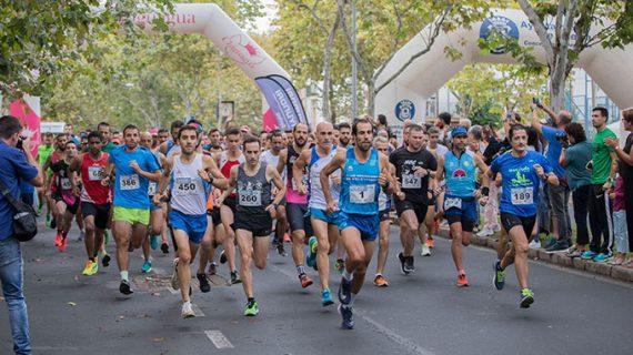 Emilio Martín y Paula Rodríguez dominan la XXXII Vuelta a Huelva que contó con 700 corredores