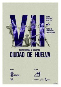 Cartel del VII Torneo Nacional 'Ciudad de Huelva' que se celebra este sábado.