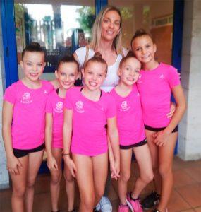 Cayetana, Adriana, Jezabel, Clara y Yolanda, clasificadas para la Copa de España.