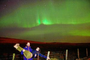 Un enclave excelente para admirar la belleza de las auroras boreales.