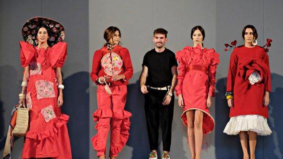 El diseñador moguereño Joaquín Dogo, segundo ganador en el Certamen 'Crea Sevilla Joven 2018'