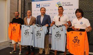 El Isla Saltés de fútbol sala lucirá en sus equipaciones el logotipo 'Que sea de Huelva'.