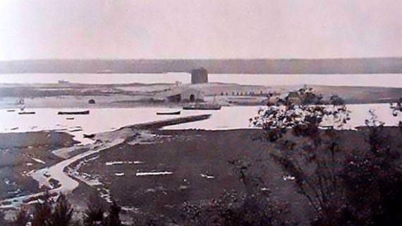 Fábrica de conservas de Tejero en La Rábida. Años treinta del siglo XX