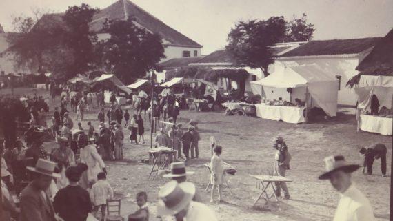 Aldea de El Rocío, década de los 20 del siglo XX