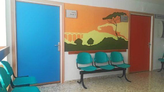 El Hospital de Riotinto refuerza la comodidad de los menores que requieren ingreso con la renovación de la planta de Pediatría