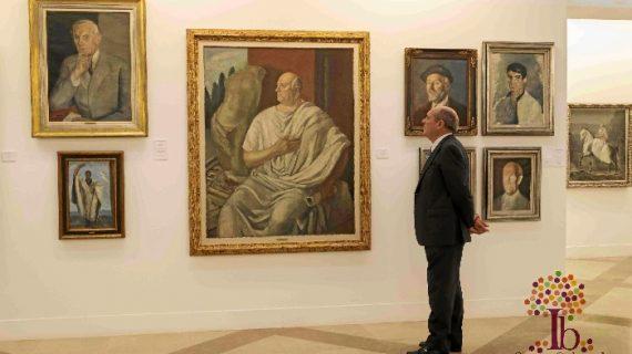 Inaugurada la exposición 'Daniel Vázquez Díaz. Muy antiguo y muy moderno'