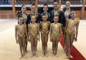 Equipos Senior y Alevín en el Torneo Nacional de Conjuntos 'Diputación de Málaga'.