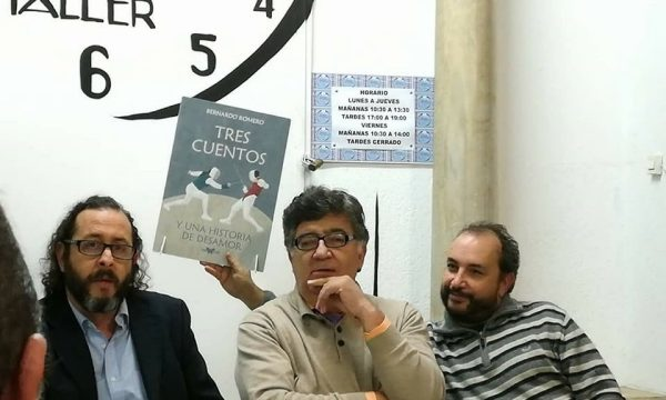 Bernardo Romero alcanza un nuevo premio de Literatura, esta vez en Huesca.
