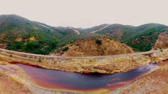 Continúan a buen ritmo los trabajos del Camino Natural del río Tinto