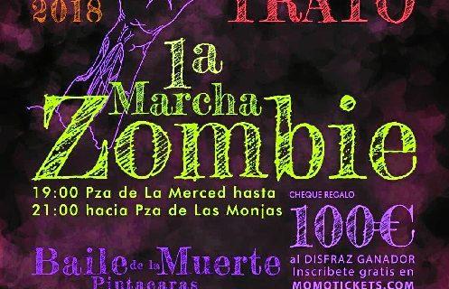 Huelva es inundada por zombies este miércoles
