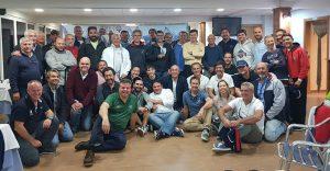 Participantes en la I Regata de Cruceros Williams Martin celebrada en Punta Umbría.