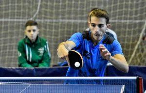 José Manuel Caballero dio sus dos puntos al equipo ayamontino. / Foto: J. L. Rúa.