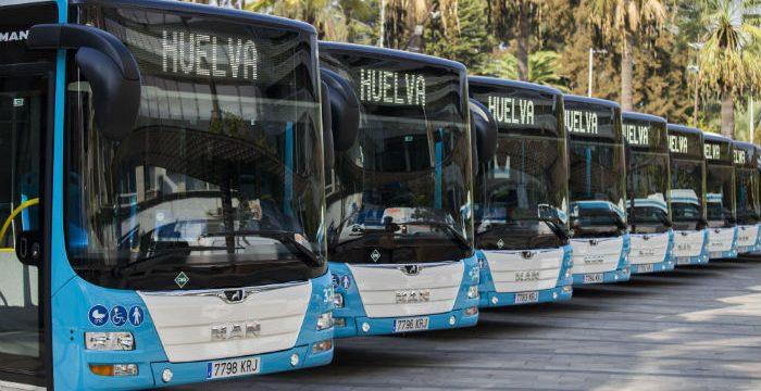 Jornada de puertas abiertas para dar a conocer los 10 nuevos autobuses ecológicos de Huelva