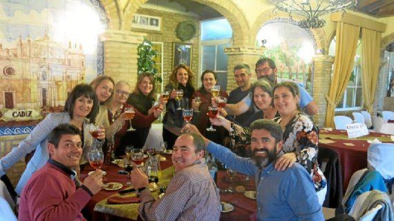 Primera comida de Navidad 'Somos Deporte' en Hinojos