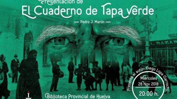 Pedro J. Martín retrata la posguerra con la novela 'El cuaderno de tapa verde'