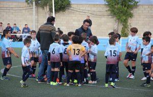Los equipos de las categorías Prebenjamín, Benjamín, Alevín, Infantil y Cadete protagonizaron el acto.