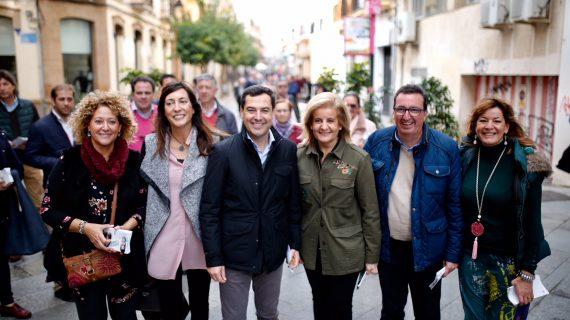 Juanma Moreno visita Huelva