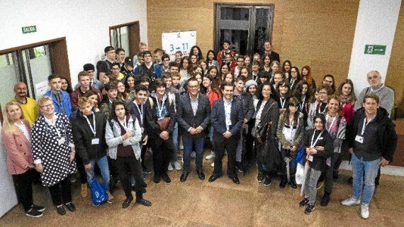 Caraballo recibe a los participantes del programa Erasmus+ en el Año Europeo del Patrimonio Cultural