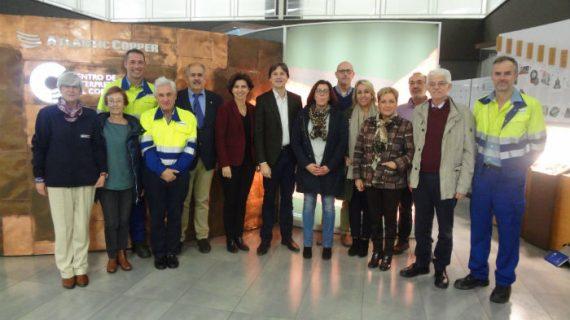 Atlantic Copper participa en una nueva edición del Programa Empresas Parlamentarios