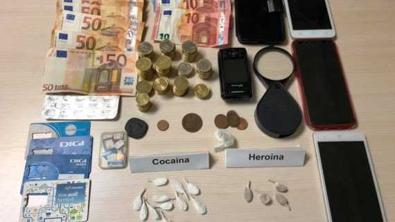 Detenido en Lepe por tráfico de drogas