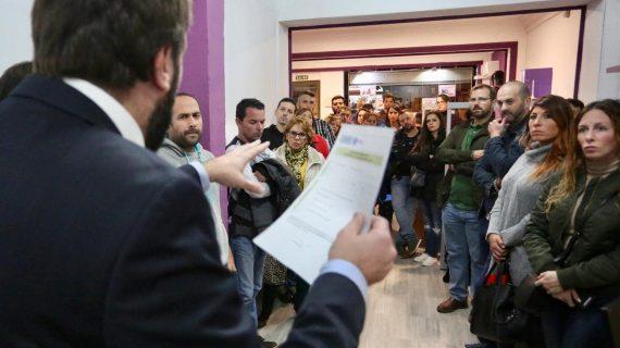 La Plataforma de afectados por las multas de la zona ORA comienza a trabajar para evitar sanciones de hasta 10 años de antigüedad
