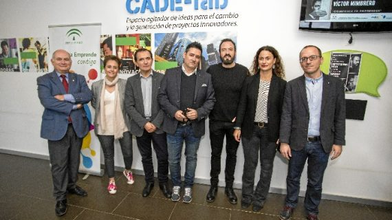 Álex O'Dogherty y Víctor Mimbrero, en Andalucía Emprende de Cine