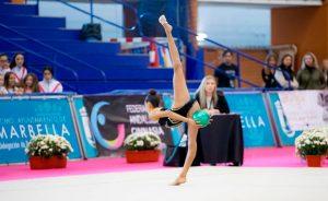 Ángela Martín acudirá al CAR de Madrid el próximo 22 de noviembre a una concentración de la selección nacional de gimnasia rítmica.