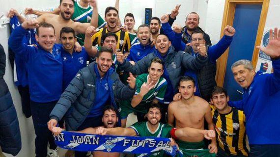 El San Juan FS pone punto final a la temporada con la alegría por la permanencia pese a la derrota en su último partido